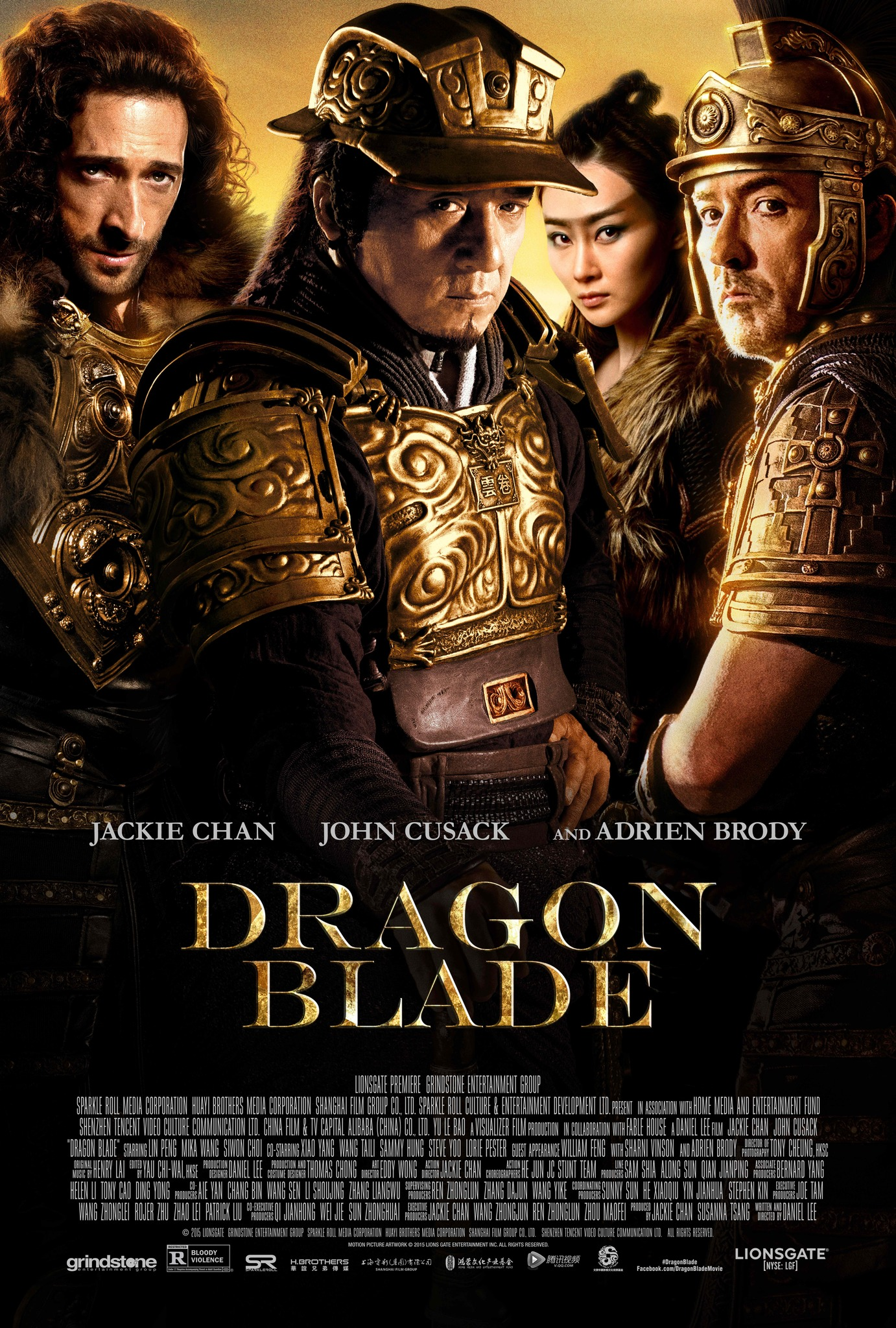 Dragon Blade 2015 Hindi Dubbed