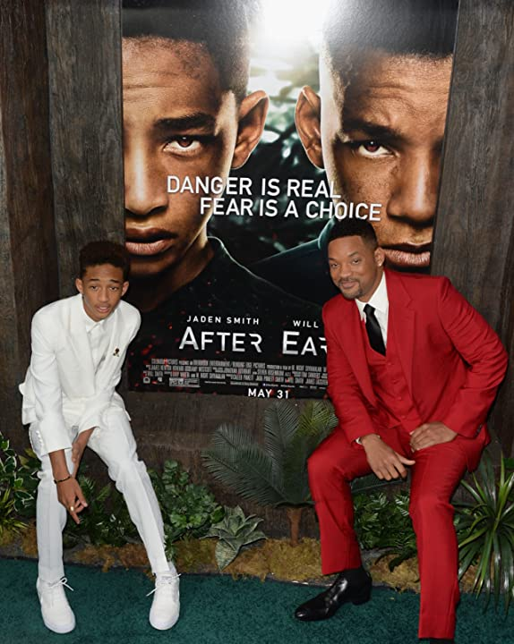 Will Smith and Jaden Smith at After Earth (2013)