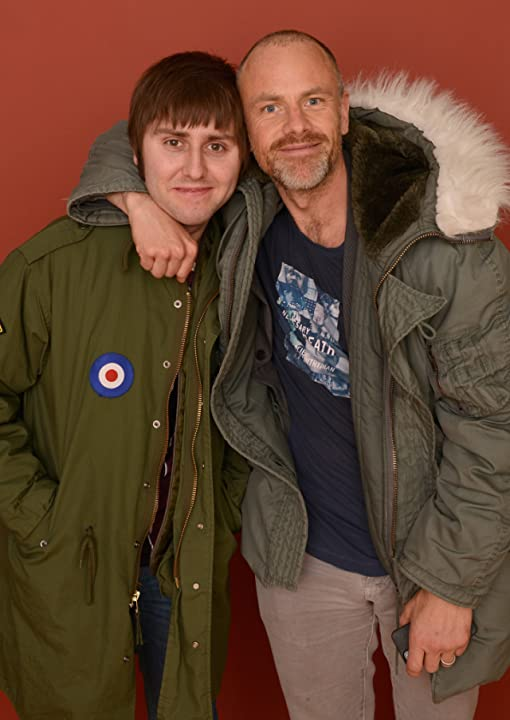 Fredrik Bond and James Buckley at an event for Charlie Countryman (2013)