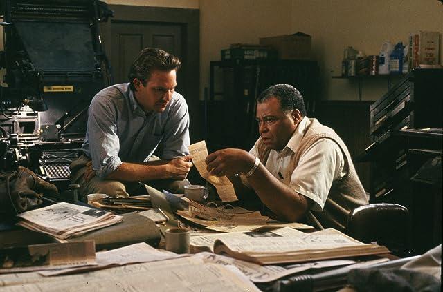 Kevin Costner and James Earl Jones in Field of Dreams (1989)