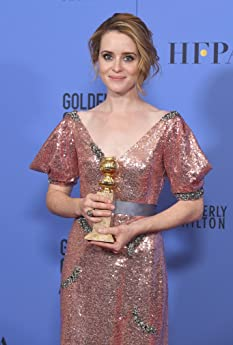Claire Foy at an event for The 74th Golden Globe Awards (2017)