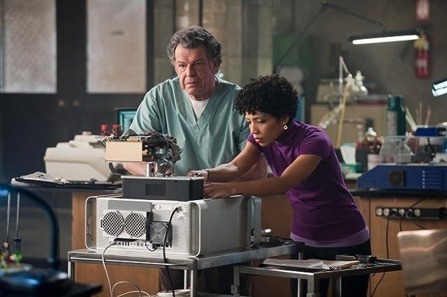 John Noble and Jasika Nicole in Fringe (2008)