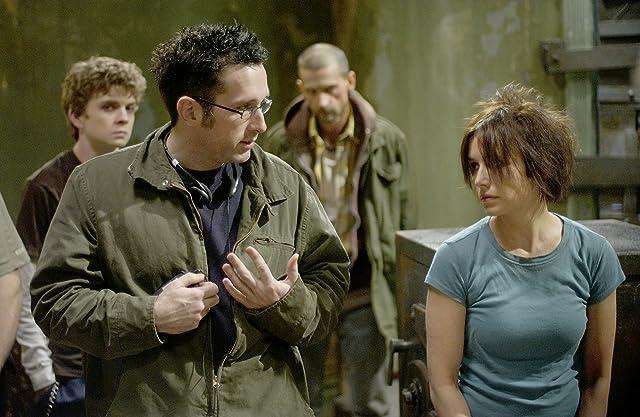 Timothy Burd, Erik Knudsen, Shawnee Smith, and Darren Lynn Bousman in Saw II (2005)