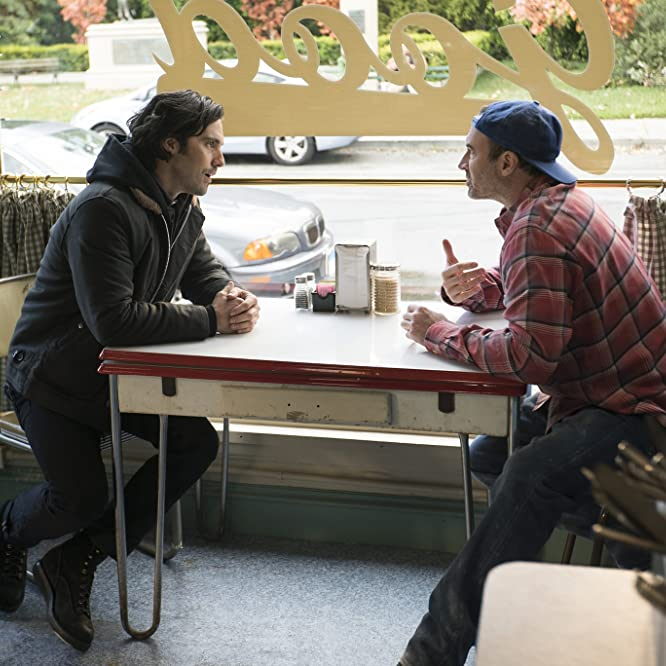 Scott Patterson and Milo Ventimiglia in Gilmore Girls: A Year in the Life (2016)
