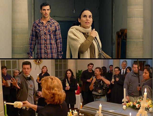 Osvaldo de León, Ana Serradilla and director Pepe Bojórquez in Hidden Moon.