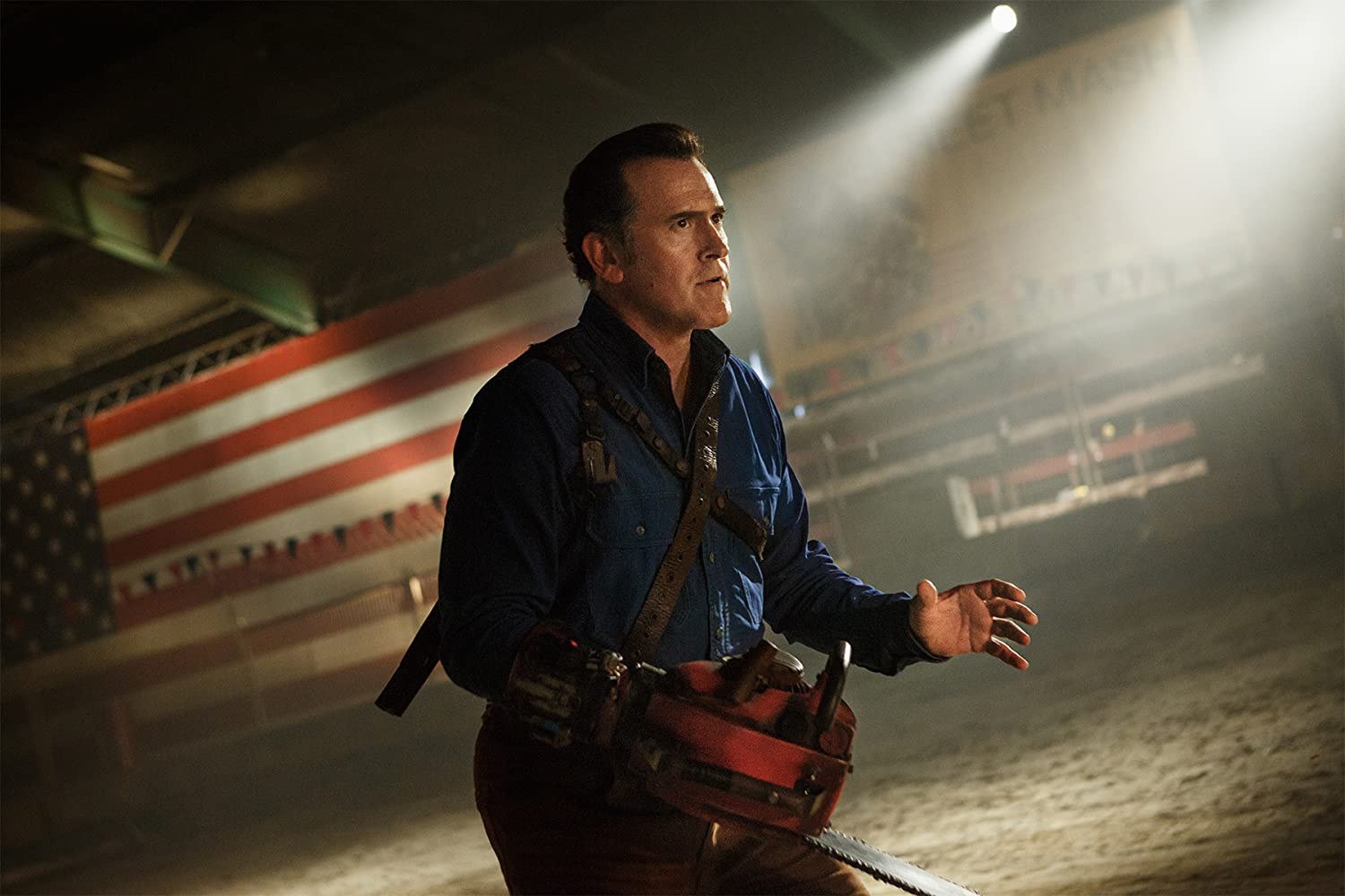 Bruce Campbell in Ash vs Evil Dead (2015)