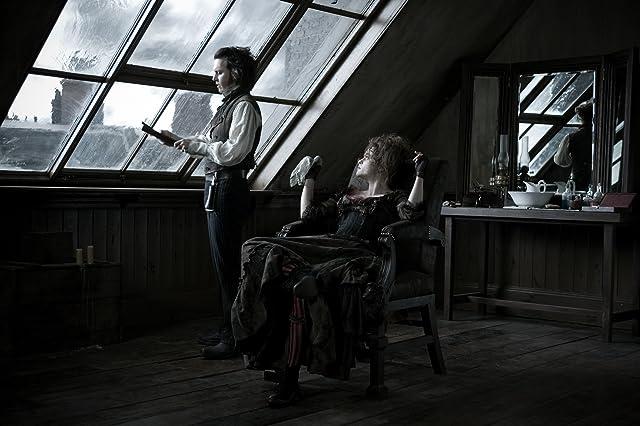 Johnny Depp and Helena Bonham Carter in Sweeney Todd: The Demon Barber of Fleet Street (2007)