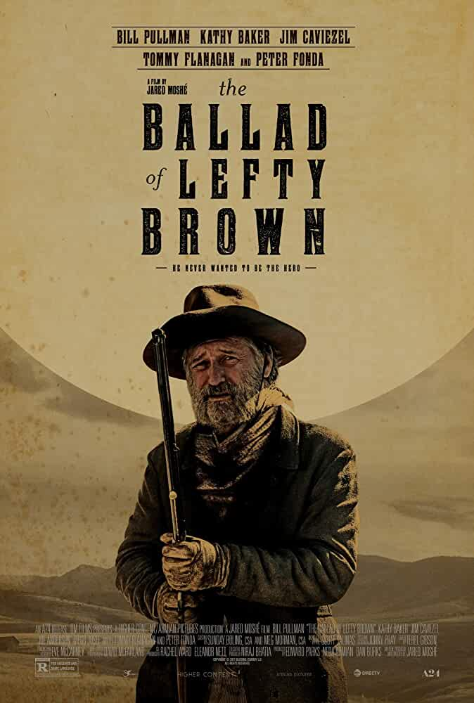 The Ballad of Lefty Brown 2017 English 480p Web-DL 300MB