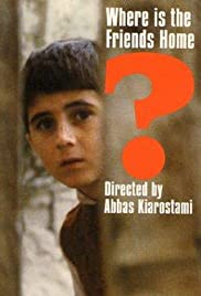 Khane-ye doust kodjast? (1987) Poster - Movie Forum, Cast, Reviews