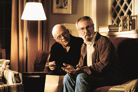 Anthony Hopkins and Robert Benton in The Human Stain (2003)