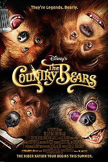 Poster Die Country Bears - Hier tobt der Bär