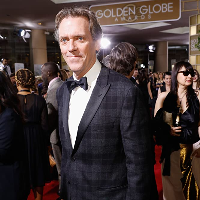 Hugh Laurie at an event for The 74th Golden Globe Awards (2017)