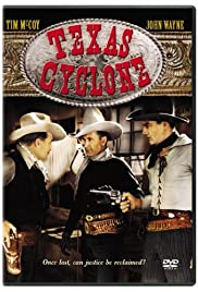 Texas Cyclone Poster