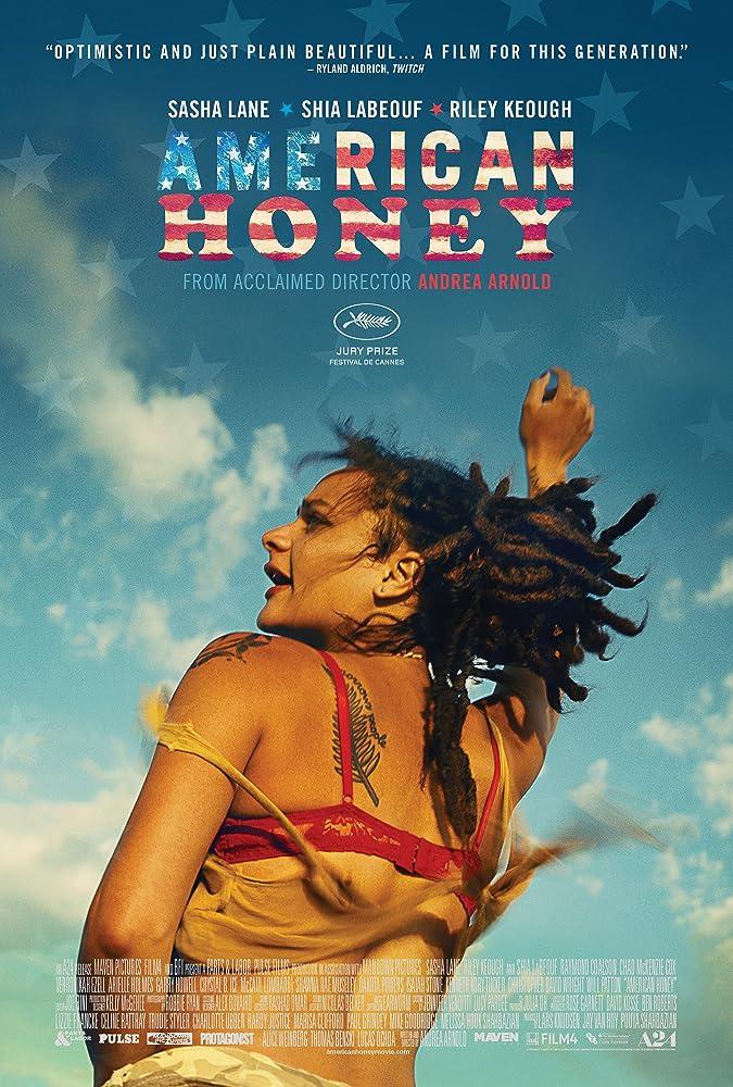 Amerikos mylimoji / American Honey (2016) žiūrėti online