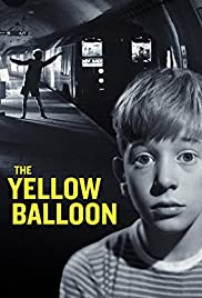 The Yellow Balloon Poster