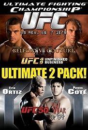 UFC 50: The War of '04 Poster