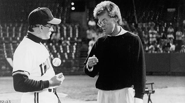 Charlie Sheen and David S. Ward in Major League (1989)