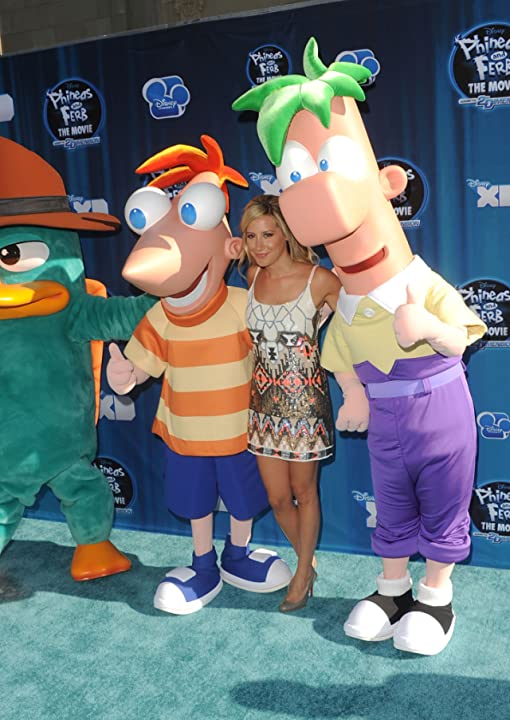 Ashley Tisdale at an event for Phineas and Ferb the Movie: Across the 2nd Dimension (2011)