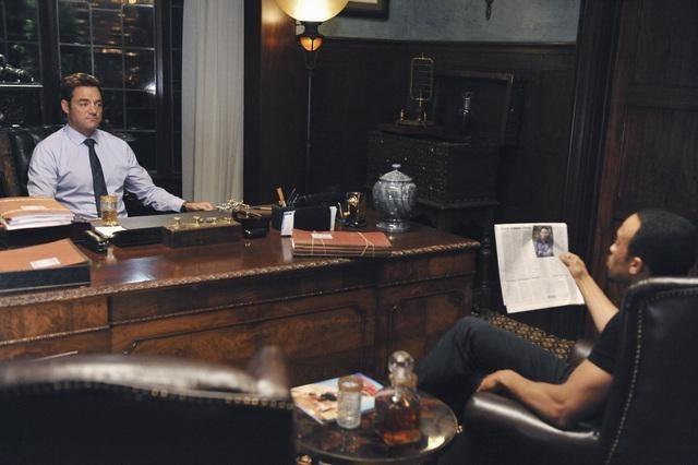 Kiko Ellsworth and David S. Lee in The Nine Lives of Chloe King (2011)