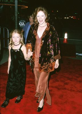Frances Fisher and Francesca Eastwood at Space Cowboys (2000)