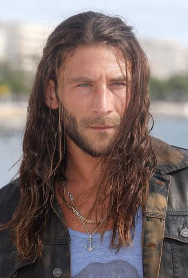 Zach McGowan at MipCom in Cannes France.