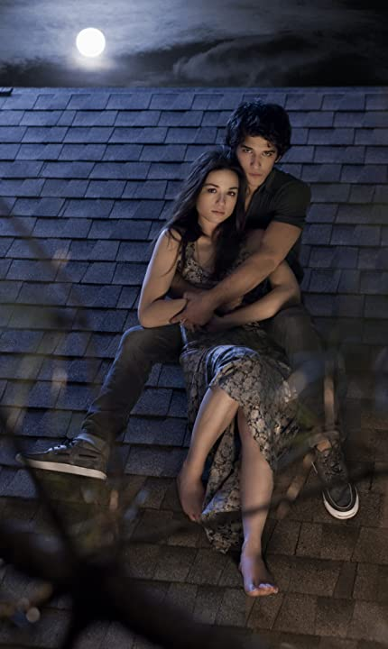 Tyler Posey and Crystal Reed in Teen Wolf (2011)