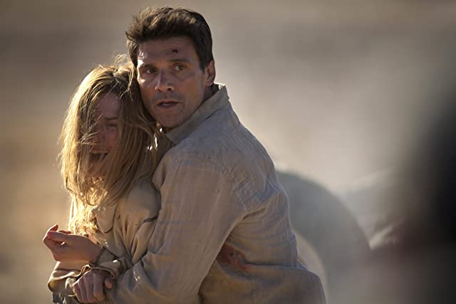 Marie-Josée Croze and Frank Grillo in Collision (2013)