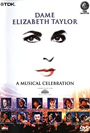 Elizabeth Taylor: A Musical Celebration Poster
