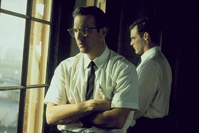 Kevin Costner and Jay O. Sanders in JFK (1991)