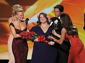 Rob Lowe, Martha Plimpton, Sofía Vergara, and Melissa McCarthy at an event for The 63rd Primetime Emmy Awards (2011)