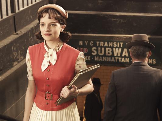 Elisabeth Moss in Mad Men (2007)