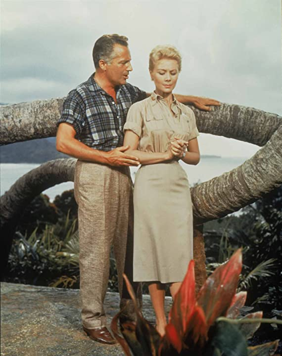 Rossano Brazzi and Mitzi Gaynor in South Pacific (1958)