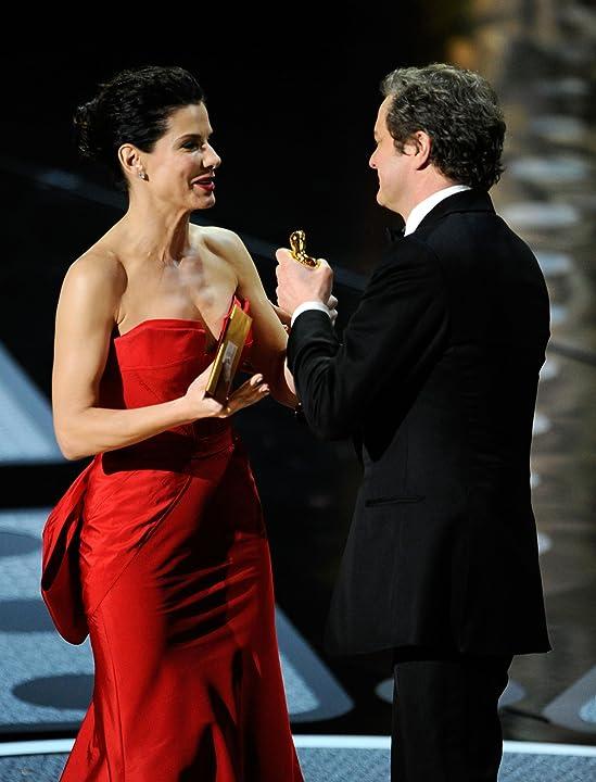 Sandra Bullock and Colin Firth