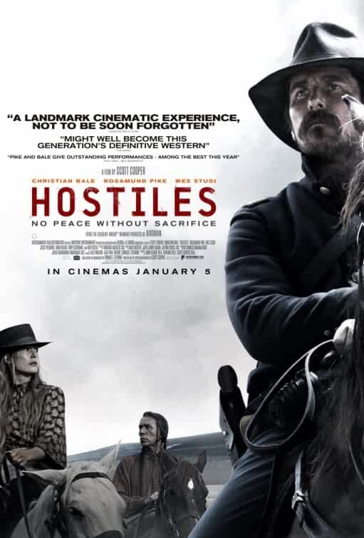 Hostiles 2018 English 720p HD CAMRip Download