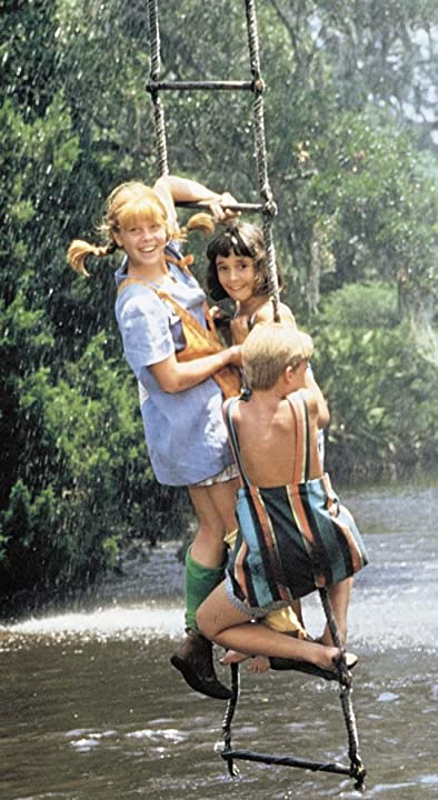 Cory Crow, Tami Erin, and David Seaman in The New Adventures of Pippi Longstocking (1988)