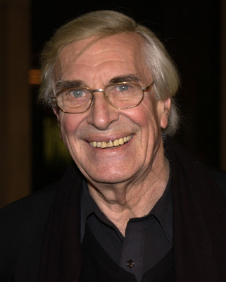 Martin Landau at an event for The Pianist (2002)