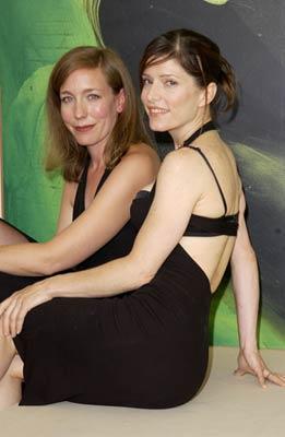 Melora Walters and Katherine Lindberg at Rain (2001)