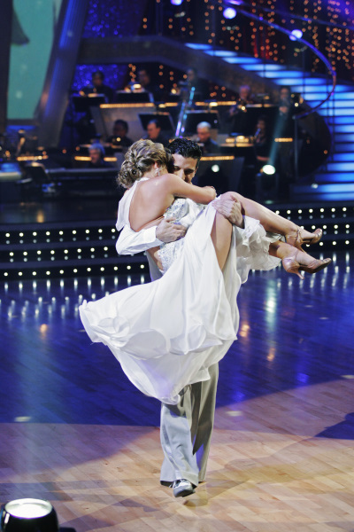 Mark Ballas and Shawn Johnson in Dancing with the Stars (2005)