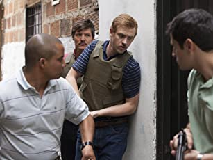 Pedro Pascal, Jorge Monterrosa, and Boyd Holbrook in Narcos (2015)