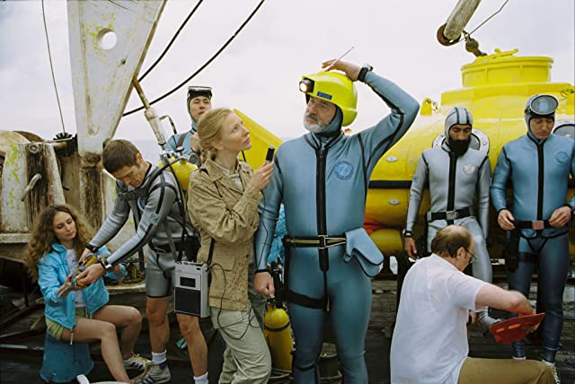 Bill Murray and Cate Blanchett in The Life Aquatic with Steve Zissou (2004)