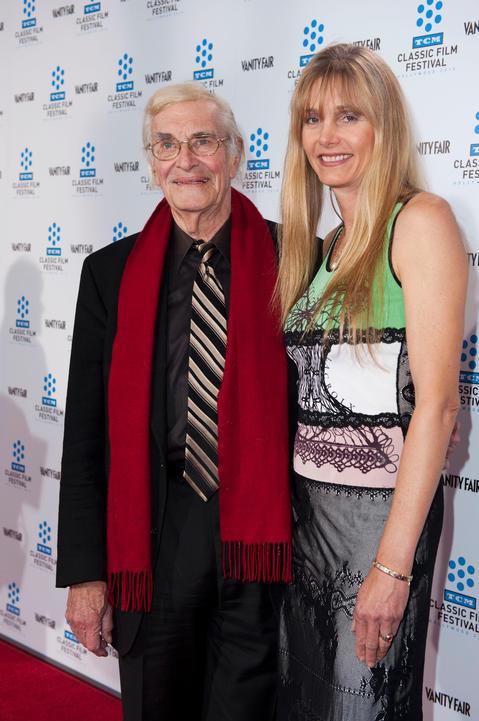 Martin Landau and Gretchen Becker