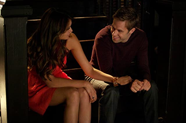 Shaun Sipos and Nina Dobrev in The Vampire Diaries (2009)