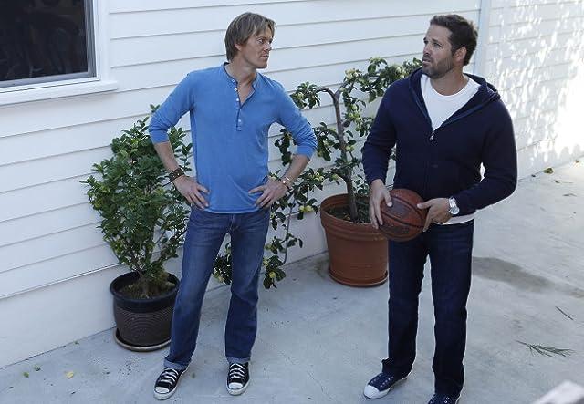 David Denman and Kris Marshall in Traffic Light (2011)