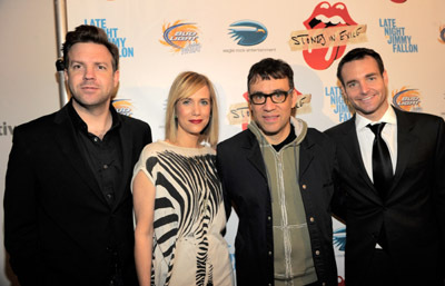 Fred Armisen, Will Forte, Jason Sudeikis, and Kristen Wiig at Stones in Exile (2010)