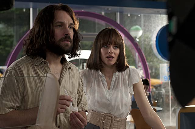 Elizabeth Banks and Paul Rudd in Our Idiot Brother (2011)