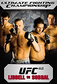 UFC 62: Liddell vs. Sobral Poster