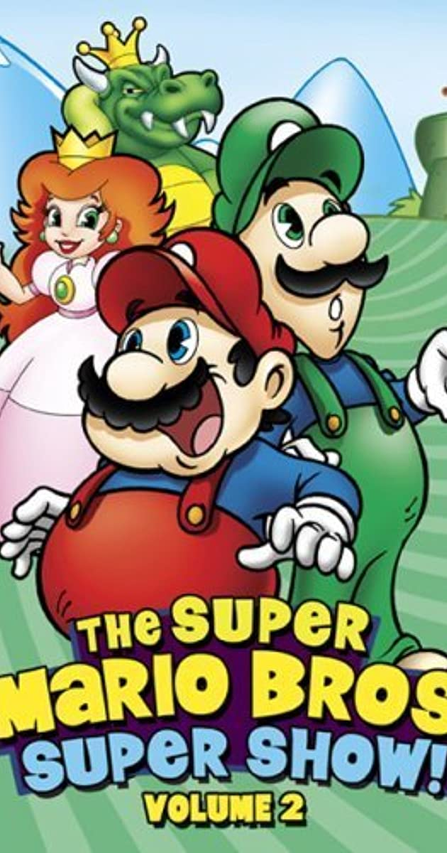 the super mario bros super show tv series 1989 imdb