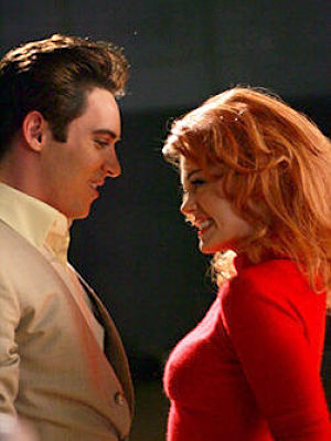 Jonathan Rhys-Meyers stars as Elvis Presley and Rose McGowan as Ann-Margaret in the fact based 4 hour mini-series