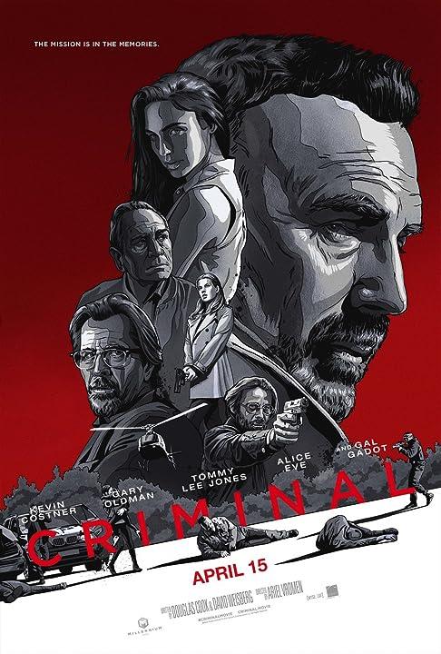 Kevin Costner, Tommy Lee Jones, Gary Oldman, Jordi Mollà, Alice Eve, and Gal Gadot in Criminal (2016)