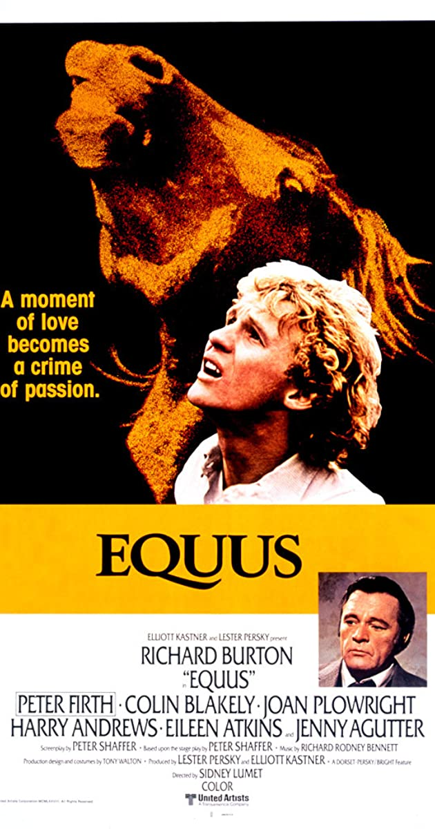 """equus essay Equus by peter shaffer in equus, shaffer has given us a chorus of horses who produce the """"equus noise,"""" a kind of choral chant made up of voices and sounds."""
